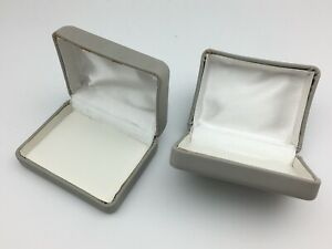 Gift Boxes Lot Of 360 100 Jewelry Presentation Clamshell Mild Discolor