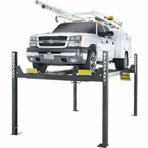 Bendpak Hd 14tl 14 000 Capacity Tall Lift 82 Rise 4 Post Lift
