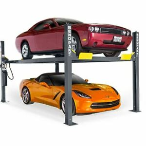 Bendpak Hd 9 9 000 lb Capacity Standard Width 4 Post Car Lift