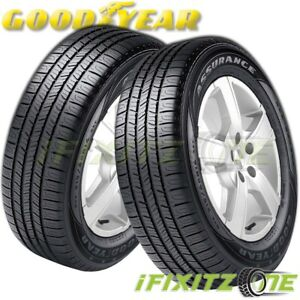 2 Goodyear Assurance All Season A S 205 65r15 94t M S Touring Performance Tires