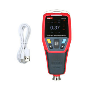 Car Lcd Digital Coating Thickness Gauge Auto Tester Paint Measuring Meter F1g7