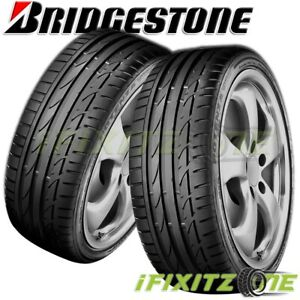 2 Bridgestone Potenza S001 205 45r17 84w Maximum Performance Summer Tires