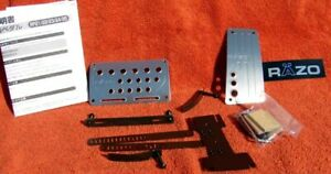 Razo A t Gas brake Pedal Kit Rp 22a At s Small Aluminum Sport grip Set