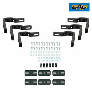 16 17 Chevy Silverado Gmc Sierra 4door Mounting Brackets For Eag Running Board