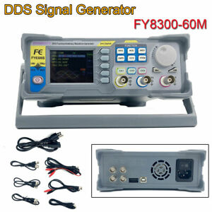 Fy8300 60m Dds Signal Generator Frequence Functions Arbitrary Waveform 3 channel