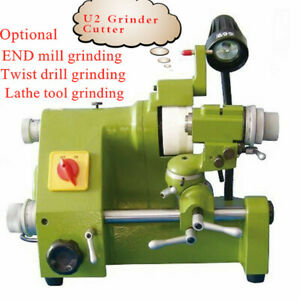 New U2 Universal Tool Cutter Grinding Grinder For End Twist Lathe Grinding
