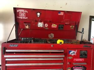 Tool Box Mac And Snap On Tools Included