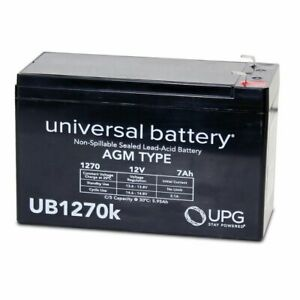 NEW  12V 7AH SLA Battery Replacement for Lowrance Universal Portable Fishfinder