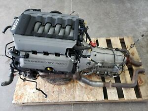 2016 Mustang 5 0 Coyote Engine Gt Drivetrain Automatic 6r80 Transmission 435hp