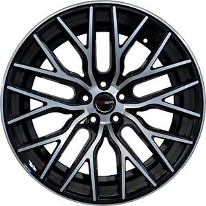 4 Gwg Wheels 20 Inch Staggered Black Flare Rims Fits Ford Mustang 2005 2014