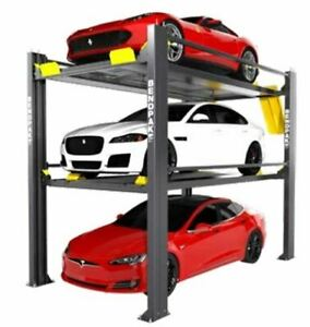 Bendpak Hd 973p 9 000 7 000 Lb Capacity Tri level Parking Lift