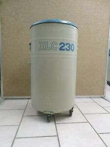 Mve Cryogenics Liquid Nitrogen Dewar Model Xlc 230 Double Walled Vacuum Vessel