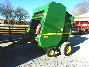 2009 John Deere 458 Round Baler bale Size 4x5 free 1000 Mile Delivery From Ky