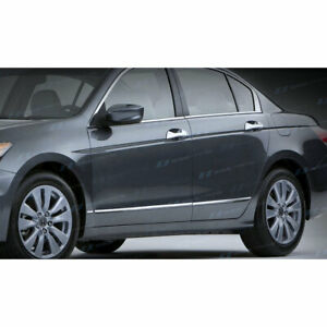 Ses Chrome Body Side Molding accent For 2008 2011 Honda Accord