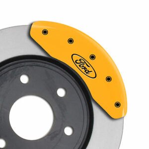Mgp Caliper Covers Set Of 4 Engraving For 2002 2004 Ford Focus Svt Yellow