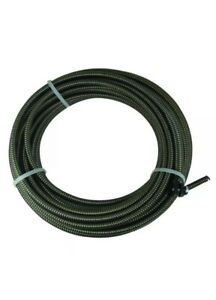 50 Ft Drain Auger Cable Snake Replacement Plumbing Sink Clog Shower Pipe Cleaner