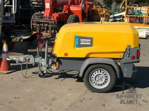 2018 Atlas Copco Xas110 Air Compressor