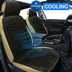 Cooling Car Seat Cushion 12v Beaded Seat Covers Comfort Wooden Beads Cool Seat