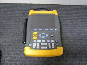 Fluke 199c Scopemeter Color Portable Oscilloscope For Parts Will Not Power Up