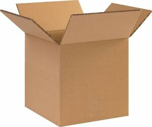 Si Products 10 X 10 X 10 Shipping Boxes 48 Ect Double 101010hddw