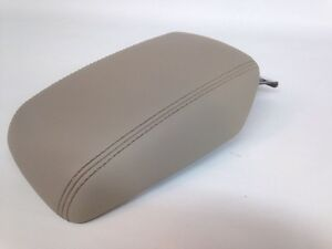 12 13 14 Ford Focus Center Console Armrest Arm Rest Lid Cover Leather Stone Tan
