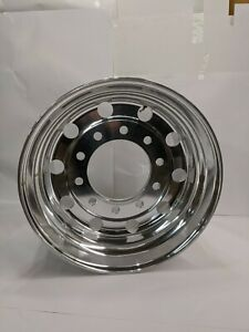 Alcoa 22 5 X 14 51 Polished X one Super Single 10 Lug Polished Wheel Ga84u622