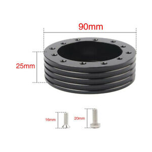 1 Steering Wheel Hub Adapter Conversion Spacer 6 Hole To 3 Hole To Fit Grant
