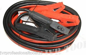 Industrial Heavy Duty 25 Feet 1 Gauge Booster Cable Jumping Cables Power Jumper