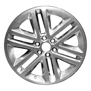 Polished 6 Double Spoke 22x9 5 Factory Wheel 2015 2017 Ford Expedition