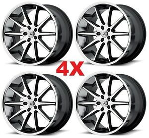 22 Asanti Wheels Rims 5x130 Lexani Forgiato