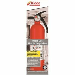 Kidde 1 a 10 b c Recreational Fire Extinguisher 2 Pack Free Shipping