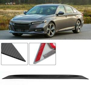 Auto Vehicle Rear Bumper Cover Lip Trim Parts Fits For Honda Accord 2018 Us