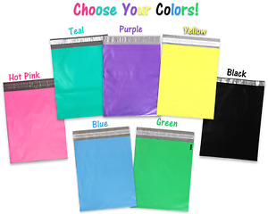 10 20 50 100 200 Pack 10x13 Colored Designer Approved Quality Poly Mailers