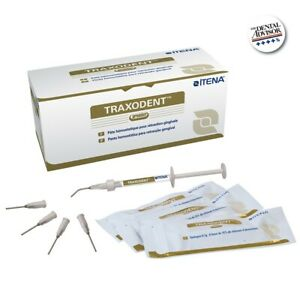 Traxodent Premier Dental Hemostatic Paste Retraction System Itena 2syringe