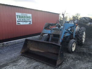 1985 Ford 2600 2wd Diesel Utility Tractor W Loader Cheap Loader Tractor