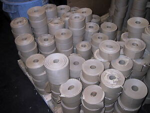 Gummed Tape reinforced 50 Rolls 375 450 500 Ft Special Lots 37 00 A Case 5 Cs