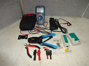 Lot Of Misc Cable Network Testing Tools Pdi Multi Meter Amp Clamp Etc