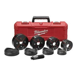 Milwaukee 49 16 2695 Exact 2 1 2 Inch To 4 Inch Knockout Set