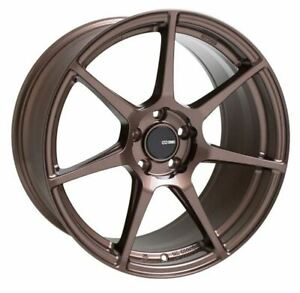 18x8 5 38 Enkei Tfr 5x114 3 Bronze Rims Set