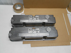 1960s Micky Thompson Ford Mercury 427 Aluminum Valve Covers 3923800 Galaxie