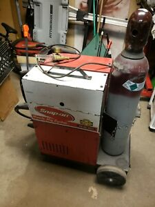 Snap On Welder Mm 120sl Mig Tig 110v Full Tank With Regulator And Wire