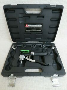 Hilmor Compact Swage Tool Kit With Case And 5 Heads 1 2 3 4 5 8 7 8 1 1 8