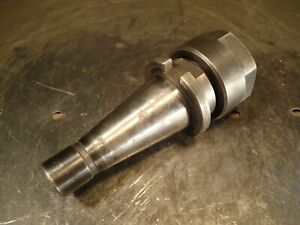 Erickson Tg 100 Collet Chuck 2 1 4 Projection Nmtb 40 Quick Change Shank Used