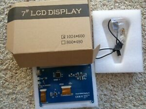 7 Inch 1024x600 Touch Screen Hdmi Lcd Display Monitor New