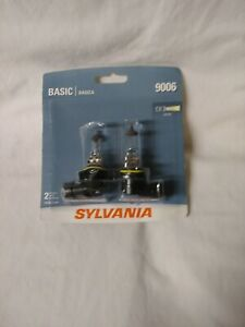 Sylvania 9006 Basic Halogen Headlight Bulb Contains 2 Bulbs