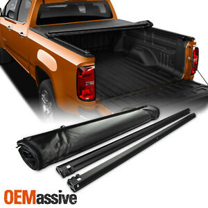 Soft Roll Up Tonneau Cover For 2015 2019 Chevy Colorado Gmc Canyon 5ft 60 Bed