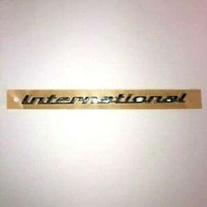 Genuine Holden International Boot Tailgate Badge To Suit Ve Commodore 92215644