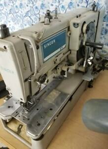 Singer Button Hole Sewing Machine Industrial Fashion Students Design Houses