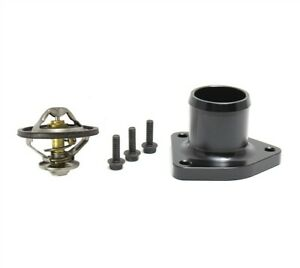 Billet Thermostat Housing With Oem Thermostat For 99 5 03 Powerstroke 7 3 Black