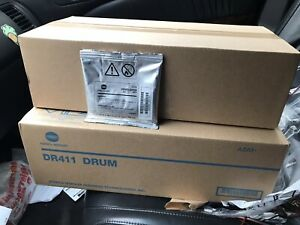 Bizhum Drum Developer And Developer Unit Lot For Bizhub 423 363 223 Oem